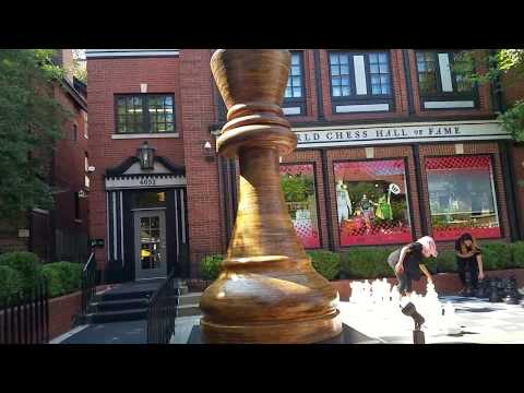 World Chess Hall of Fame - VIDEO TOUR (St. Louis, Missouri)