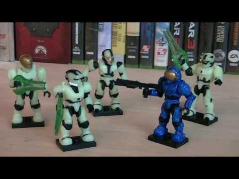 Halo Mega Bloks 97199 Last Man Standing Zombie Pack Review