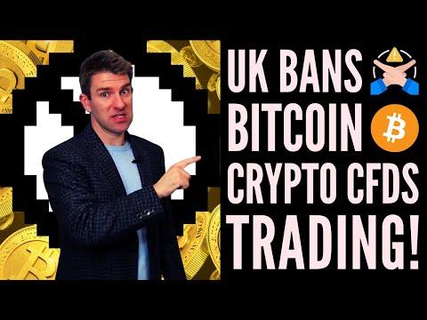 Bitcoin Banned?  U.K. Bans Bitcoin/Crypto CFD Trading 🤔