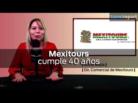 Mexitours cumple 40 años