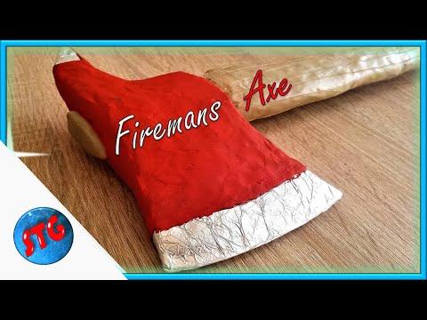 Fireman axe - Clay prop/Cosplay #6