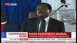 Kalonzo Musyoka: Kutoka leo, kusitoke mtu wa kunitenganisha na ndugu yangu Uhuru Kenyatta