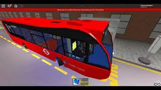 Roblox London Hackney & Limehouse bus Simulator Optare Versa SLN Route D3 to Bonner & Return