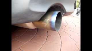 M7 exhaust sound from Mazda 3 1.6..