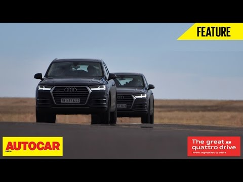 Great Quattro Drive   Germany To India   Episode 02   Autocar India
