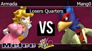 Video LTC 6 - [A] Armada (Peach) vs C9 | Mang0 (Falco) Losers Quarters - Melee download MP3, 3GP, MP4, WEBM, AVI, FLV November 2018