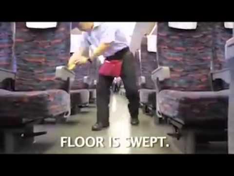 How Japanese people work. 7 minutes miracle... #Respect #ShinkansenBulletTrain