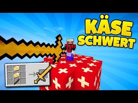 KÄSE OP SCHWERT mit 1000000 SCHADEN!   Schweiz Lucky Blocks Dropper