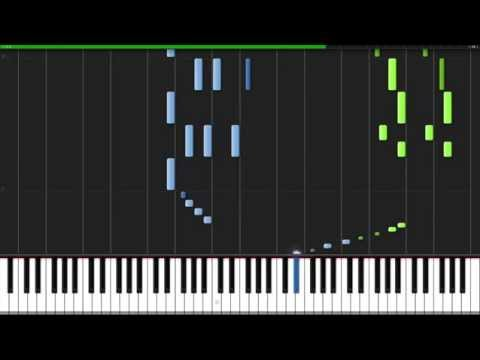 Dance of the Sugar Plum Fairy  The Nutcracker Piano Tutorial Synthesia