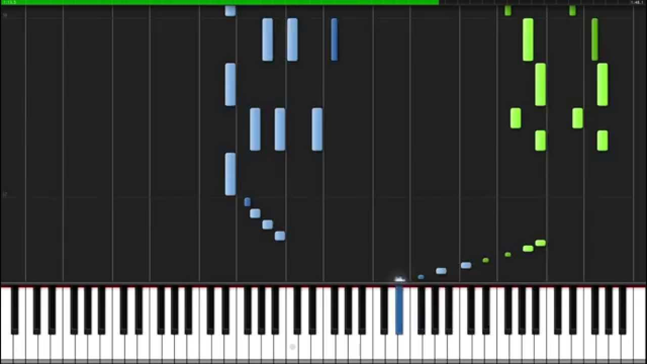 Dance Of The Sugar Plum Fairy The Nutcracker Piano Tutorial Synthesia Youtube