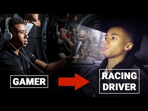 From Bedroom Gamer To Racing Driver