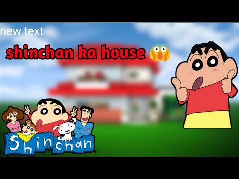 Shinchan ka ghar in Minecraft pe with best shaders 😱 [hindi]