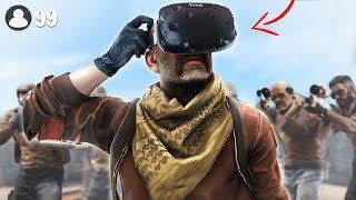 Battle Royale in Virtual Reality.. (Pavlov VR Funny Moments)