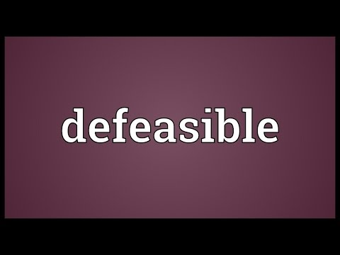 Header of defeasible