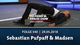 Die Pierre M. Krause Show vom 29.05.2018 mit Sebastian Pufpaff und Madsen