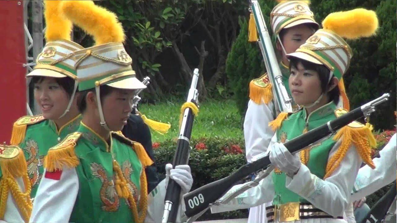 20151112 北一女中樂儀旗隊 國父150歲誕辰紀念活動表演(多鏡剪輯版)
