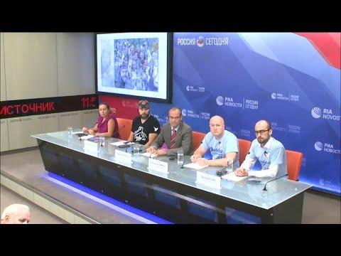 Пресс-конференция организаторов Автопробега Дружбы 2017 на РИА Новости