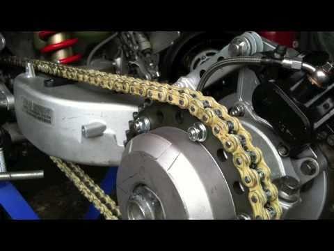 Car Wheel and Single-Sided Swingarm Conversion