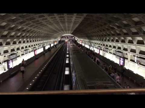 First day riding the Washington Metro!