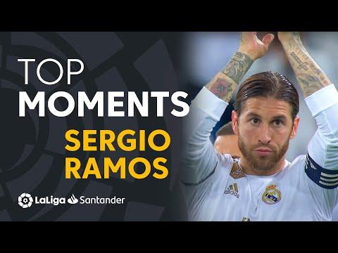 TOP MOMENTS Sergio Ramos en el Real Madrid