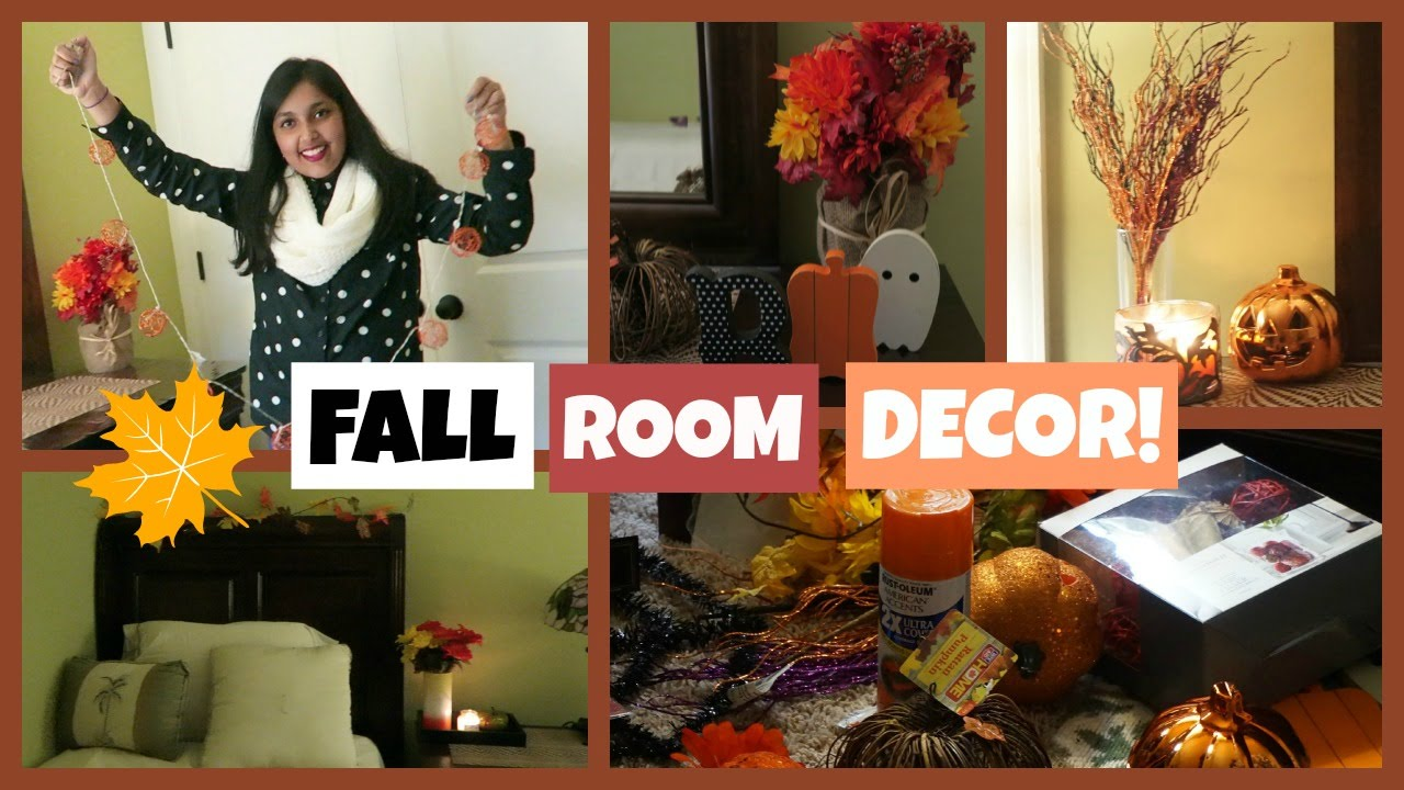 Easy Ways To Decorate Your Room For Fall Youtube