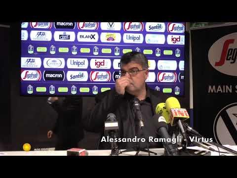 Ramagli commenta Virtus - Varese e l'ufficializzazione di Wilson