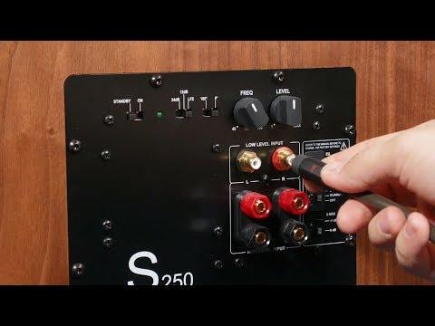 Как подключить сабвуфер к стереоусилителю схема