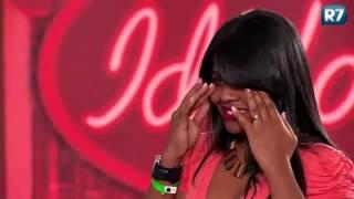 Índia Rosa Morena- Ídolos 2012 em Goiânia emociona os jurados