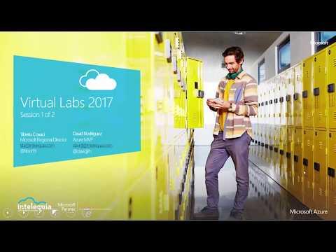 Virtual Labs on Microsoft Azure (1 of 2)
