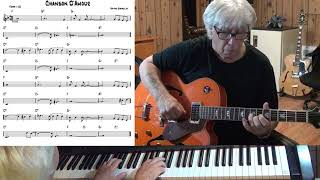 Chanson D'Amour - Jazz guitar & piano cover ( Wayne Shanklin )
