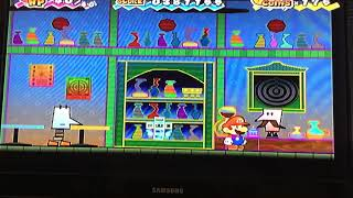 Flopside Overthere bar *all stories* ( Super paper mario wii)