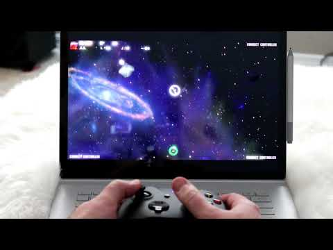 Twin stick controls in Solaroids [Asteroids]?!? Madness!
