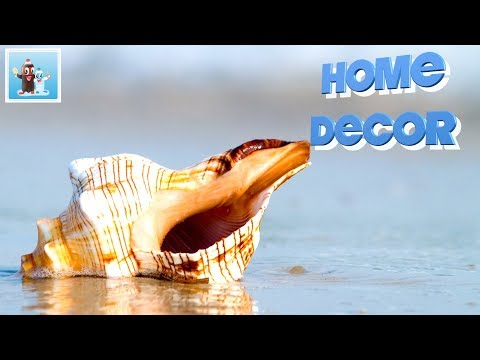 Handicraft with Seashells Art and Craft Ideas for Home Decor