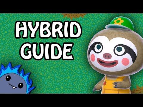 Hybrid Flowers Guide Animal Crossing New Leaf Youtube
