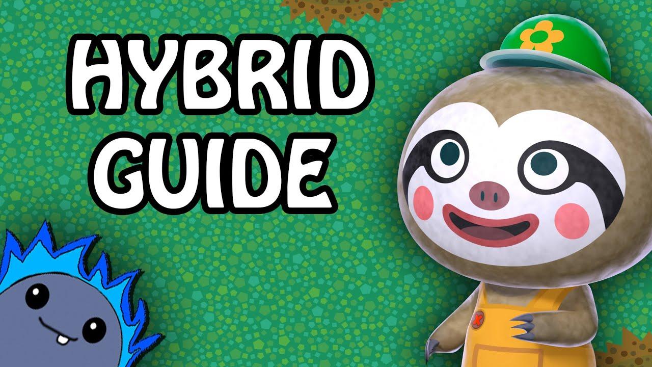 Hybrid Flowers Guide Animal Crossing New Leaf