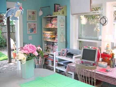 sewing room design ideas youtube