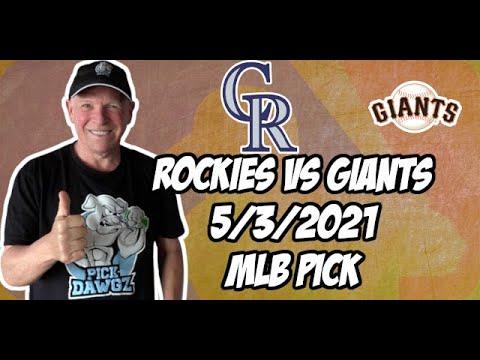 MLB Picks and Predictions: Colorado Rockies vs San Francisco Giants 5/3/21 MLB Betting Tips