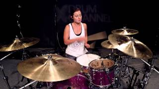 vuclip Lindsey Raye Ward - Linkin Park feat. Daron Malakian - Rebellion (Drum Cover)