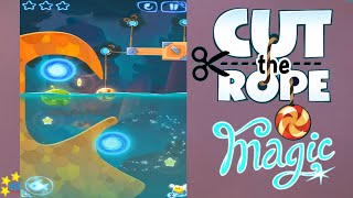 Cut the Rope Magic - Daily Challenges July, 17 2016 (3 stars, 0 stars, 2 stars)