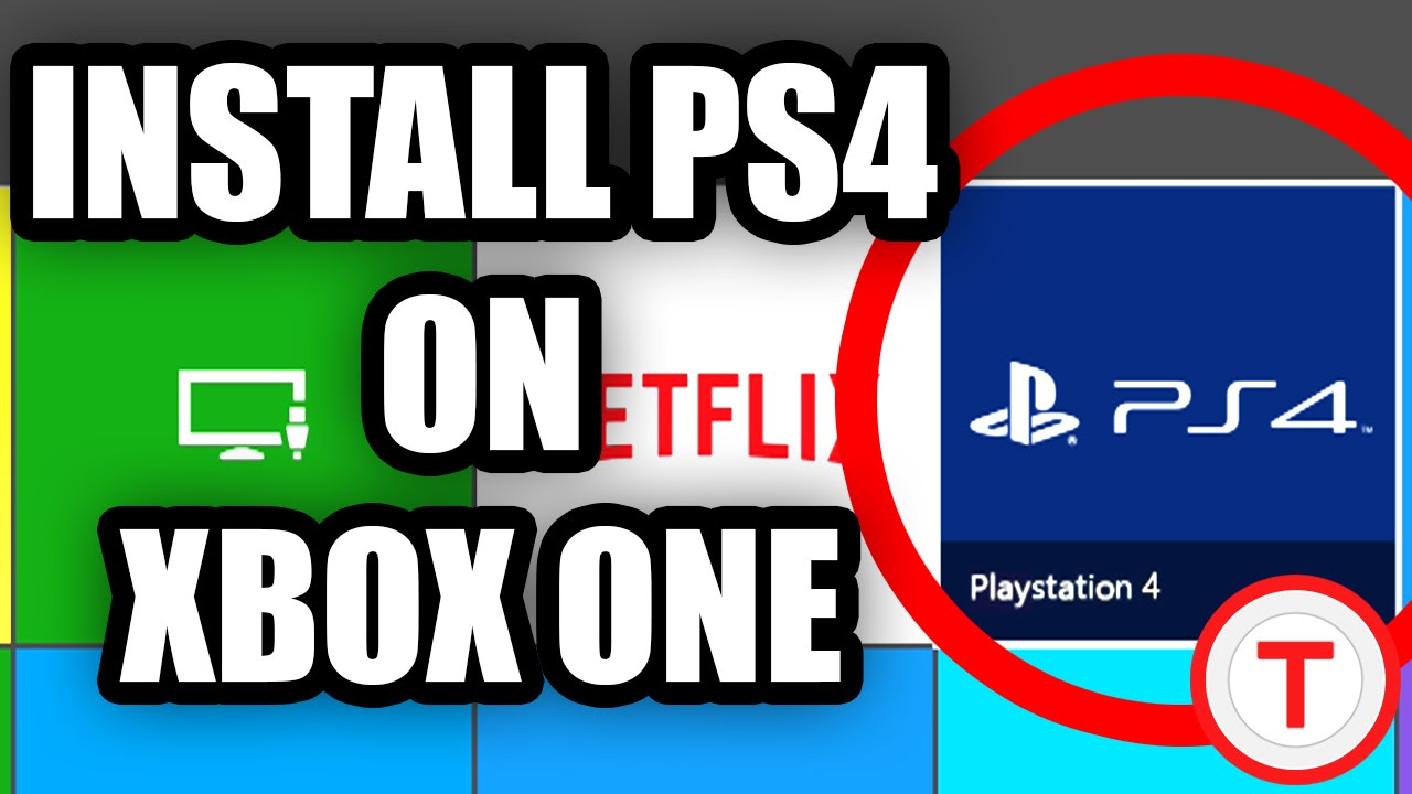 PLAY PS4 GAMES ON XBOX ONE | Tutorial + Download Link