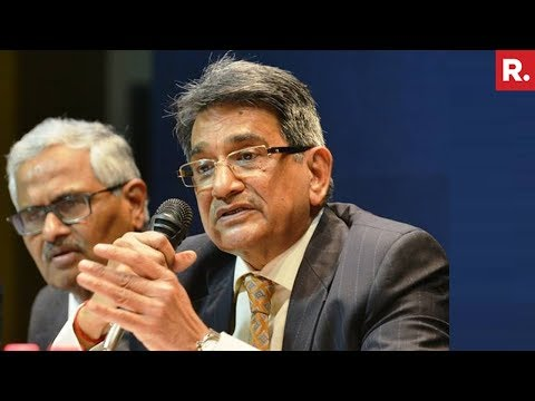 Justice RM Lodha Former CJI Speaks To Republic TV | #JudgesAtWar