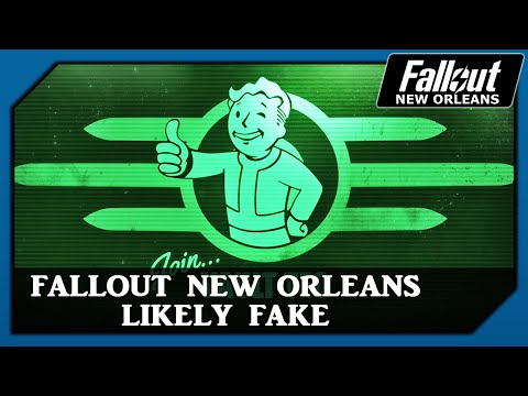 Fallout New Orleans Likely Fake