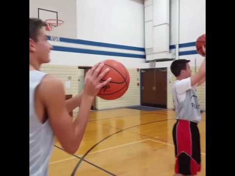 Blanchester Middle School 8th Grade Basketball Mannequin Challenge