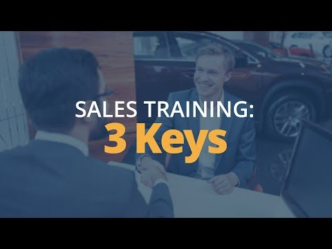 Sales Training: 3 Keys to Build Customer Loyalty in Relationship Selling