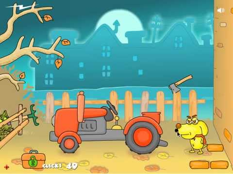 Zombie Cats WALKTHROUGH – funny point and click adventure game