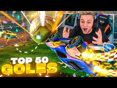 TOP 50 MEJORES GOLES DE ROCKET LEAGUE - Ampeterby7