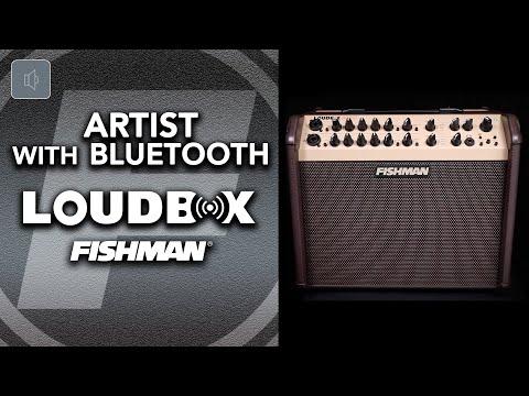 NEW Fishman Loudbox Artist With Bluetooth