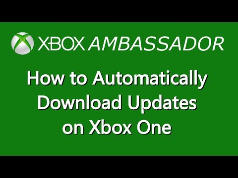 How to set your Xbox One to Automatically update games & Apps   Xbox Ambassador Series