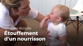 Premiers secours : Etouffement d'un nourrisson | Secourisme