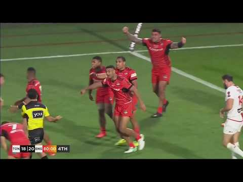 Tonga v England Highlights - 2017 Rugby League World Cup semi-final, 25.11.17